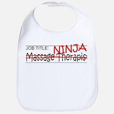 Job Ninja Massage Therapist Bib