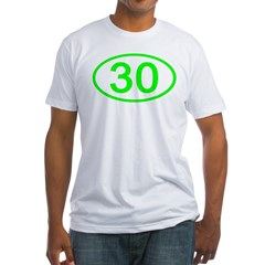 Number 30 Oval Shirt