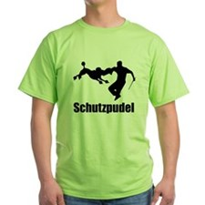 Black Schutzpudel T-Shirt