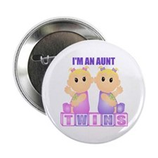 I'm An Aunt (BGG:blk) Button
