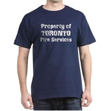 Property of Toronto Fire Services Navy T-Shirt