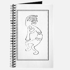 Crayon Kokopeli Journal