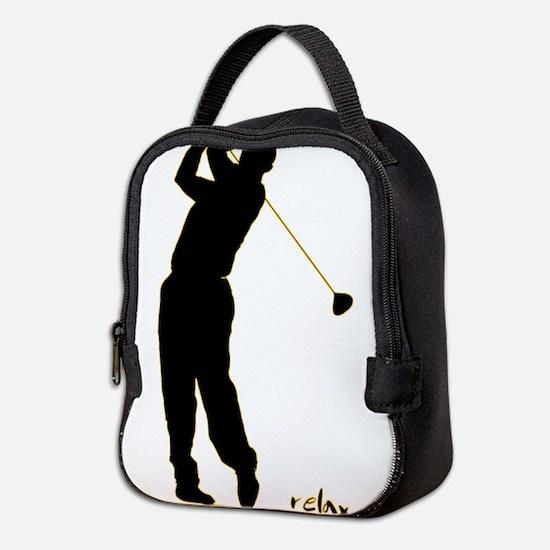 Golf Neoprene Lunch Bag