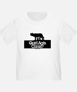 Quid Agis Canis? What is up dog? T-Shirt