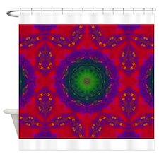 3D Kaliedescope Shower Curtain