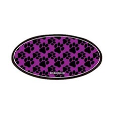 Dog Paws Purple Patches