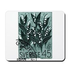 1968 Sweden Lily of The Valley Postage Stamp Mouse