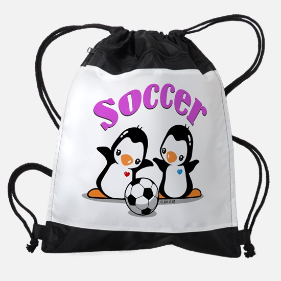 I Like Soccer (3) Drawstring Bag