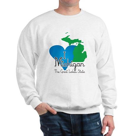 I Heart Michigan Sweatshirt