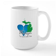 I Heart Michigan Mug