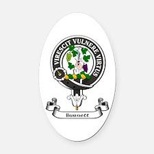 Badge - Burnett Oval Car Magnet