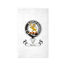 Badge - Broun 3'x5' Area Rug