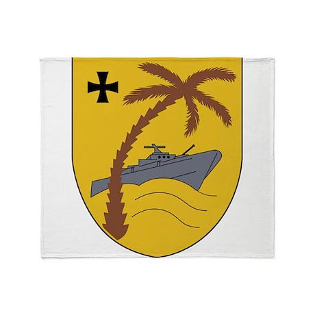 3 Schnellbootgeschwader Wappen Throw Blanket