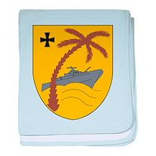 3 Schnellbootgeschwader Wappen baby blanket