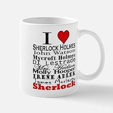I Heart Sherlock Mug
