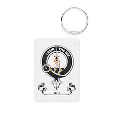 Badge - Bell Aluminum Photo Keychain