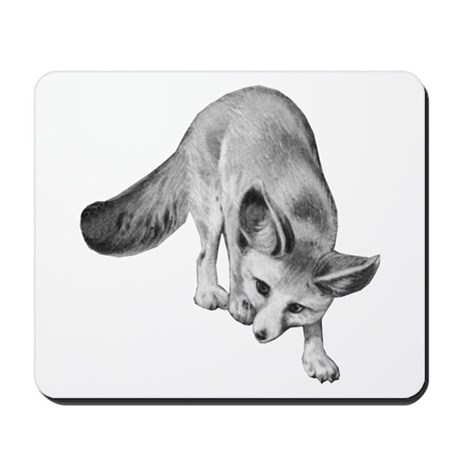 Fennec Desert Fox Mousepad