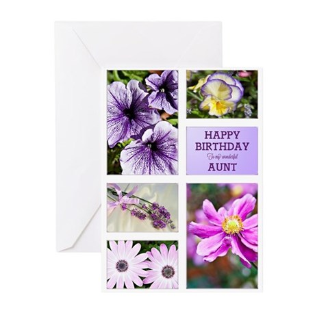 Aunt birthday card Greeting Cards (Pk of 10)