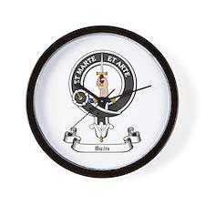 Badge - Bain Wall Clock