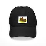 GL Cochin Bantams Black Cap