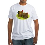 GL Cochin Bantams Fitted T-Shirt