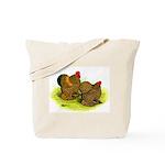 GL Cochin Bantams Tote Bag