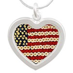 Flower Power US Banner Necklaces