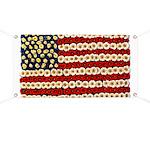 Flower Power US Banner Banner