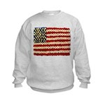 Flower Power US Banner Sweatshirt
