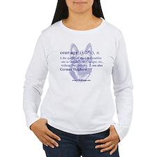 Courage--German Shepherd T-Shirt