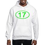 Number 17 Oval Hooded Sweatshirt