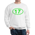 Number 17 Oval Sweatshirt