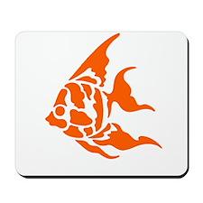 Orange Gold Fish Mousepad