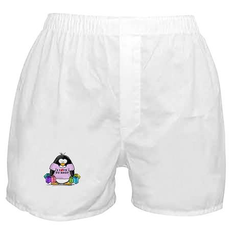 Love To Shop Penguin Boxer Shorts