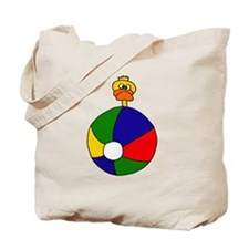 Duck at the Beach Tote Bag