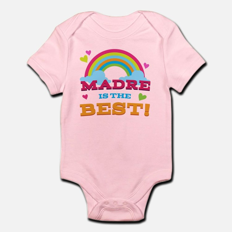 Madre is the Best Infant Bodysuit