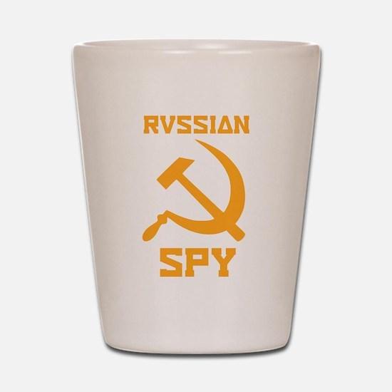 I am a Russian spy Shot Glass
