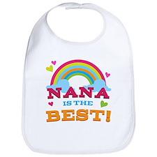 Nana Is The Best Bib