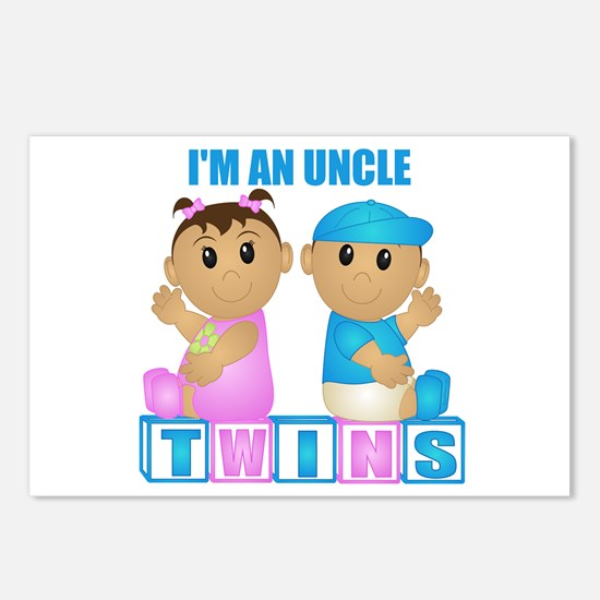 I'm An Uncle (TBG:blk) Postcards (Package of 8)