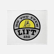 Do You Even Lift Bro? Stadium Blanket