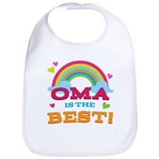 Oma Is The Best Bib