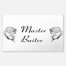 Master Baiter Sticker (Rectangle)