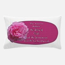 Psalm 19 1 Peony Pillow Case