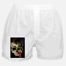Skull and Rose Boxer Shorts