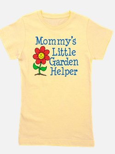 Mommys Garden Helper Girl's Tee