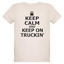 Keep Calm and Keep Truckin' T-Shirt
