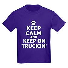 Keep Calm and Keep Truckin' T