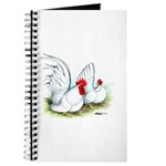 White Japanese Bantams Journal