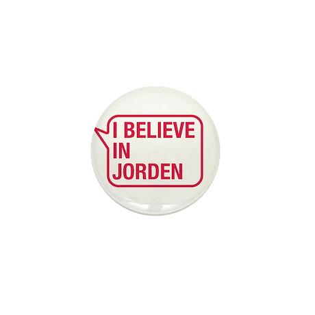 I Believe In Jorden Mini Button