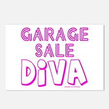 GARAGE SALE DIVA Postcards (Package of 8)